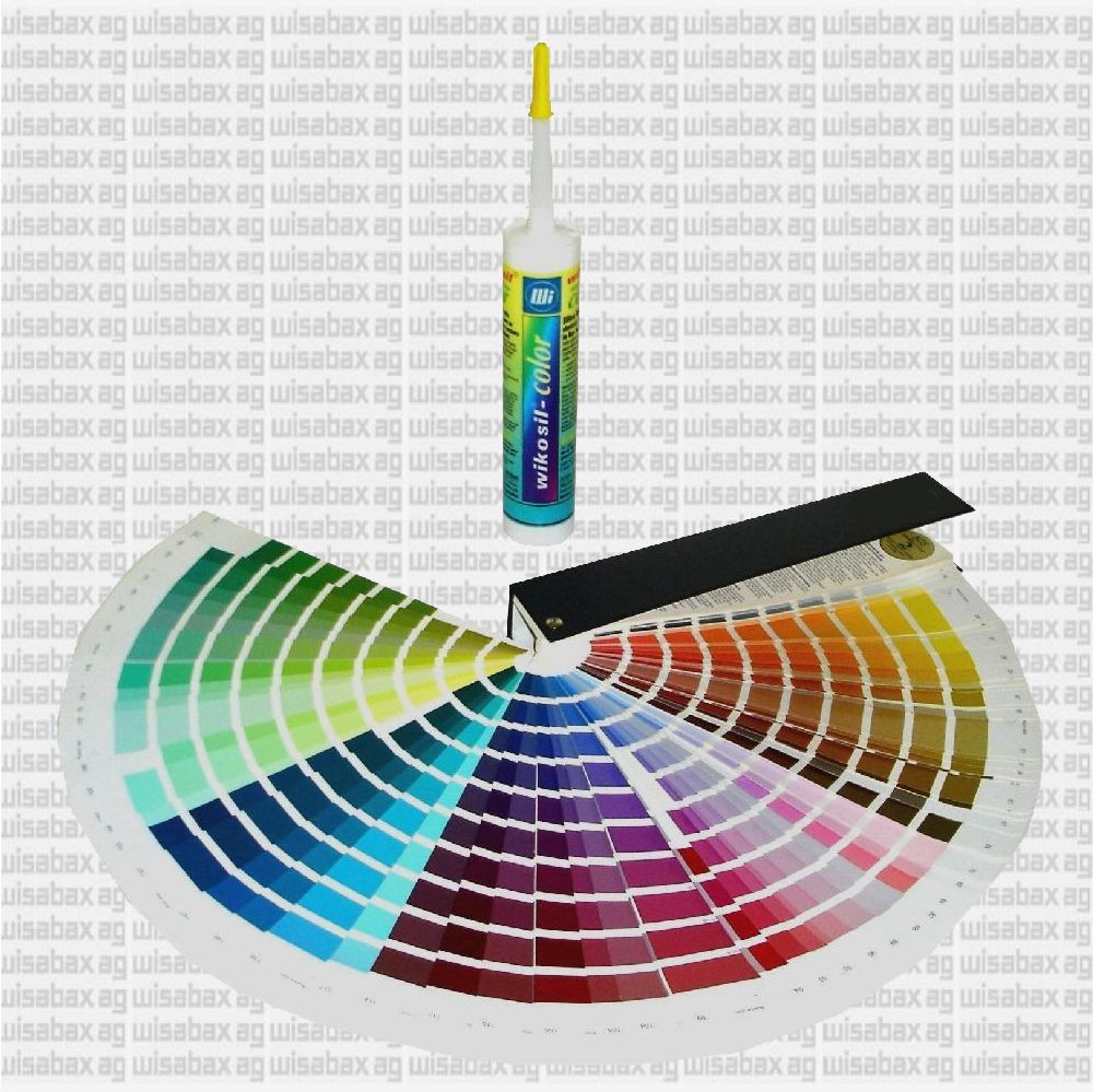'All-round silicon, each color from a cartridge